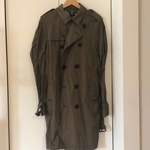 Burberry Brit Olive Trench-coat